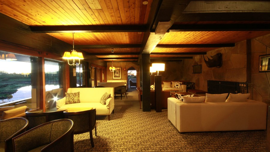 Lounge at the Ark Lodge