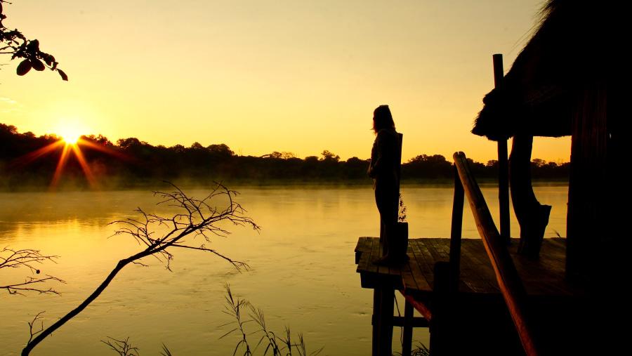 Sunrise, Okavango Delta