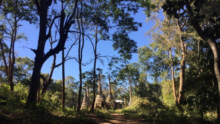 One Religious Spot on trekking way