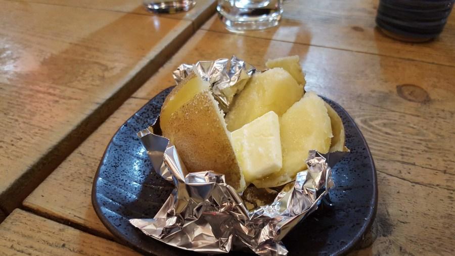 Hokkaido potatoes with Hokkaido butter