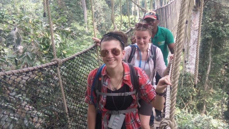 Kakum Canopy Walk way