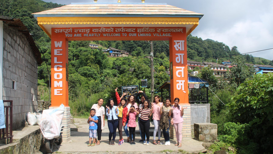 Wlecome to Lwang Village