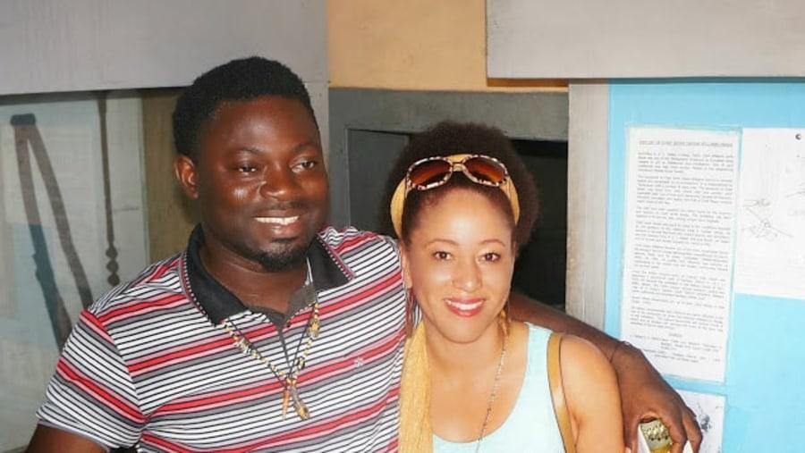 Anago and Princess Fatunbi Adefunmi of Oyotunji African village U.S.A