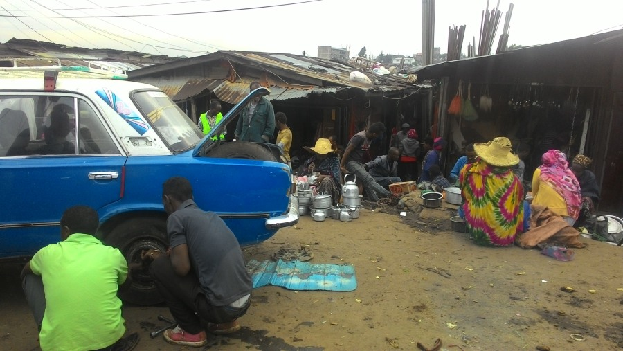 In Merkato market - Addis Ababa