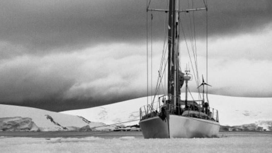 Anchored in sea-ice