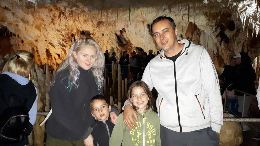 Visiting the Bears Cave
