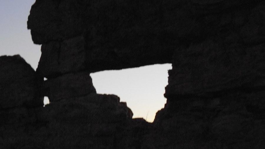Window of Isalo park