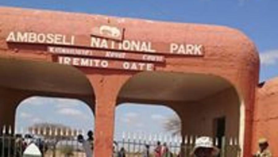 Amboseli gate