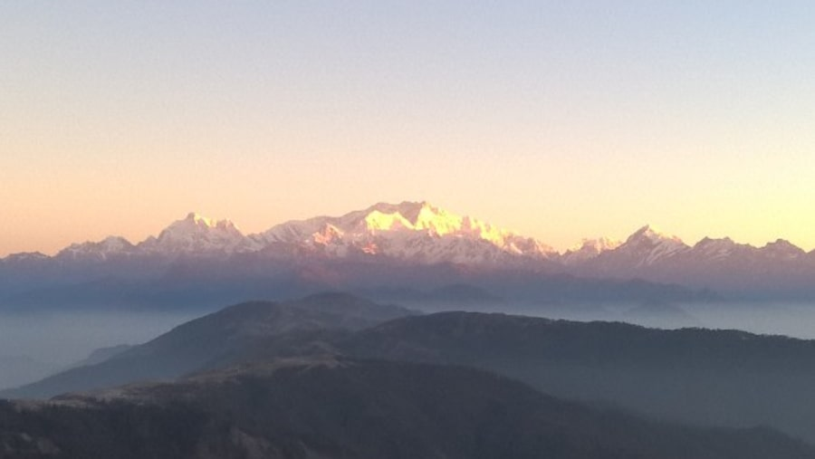 View of Mt. Kanchenjunga