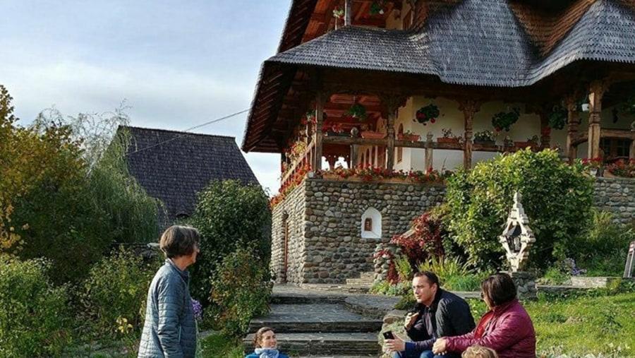 Talking about the Barsana Monastery