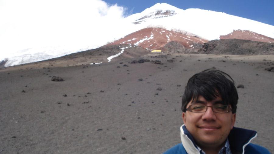 In Cotopaxi Volcano.