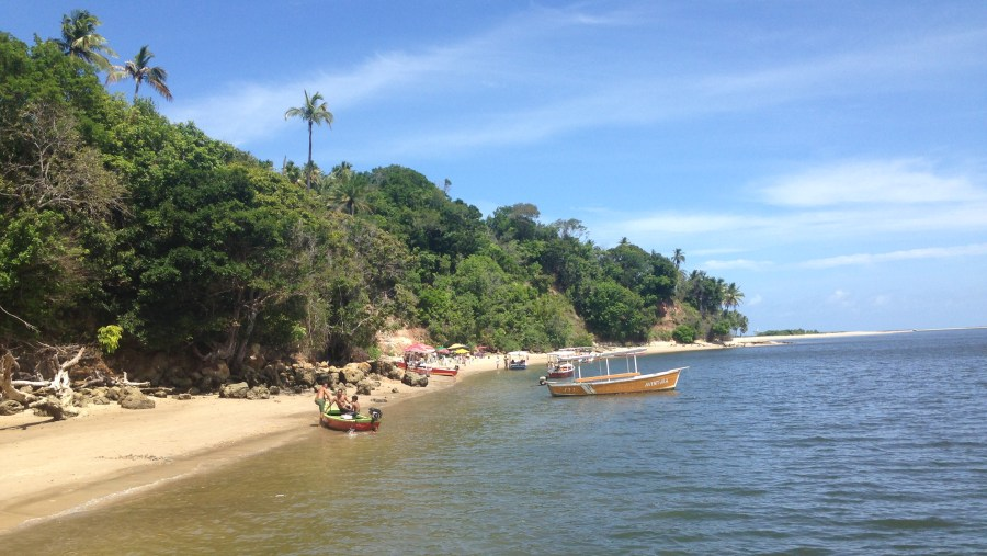 Praia dos Carneiros (banho de argila) - Rio Arikindá