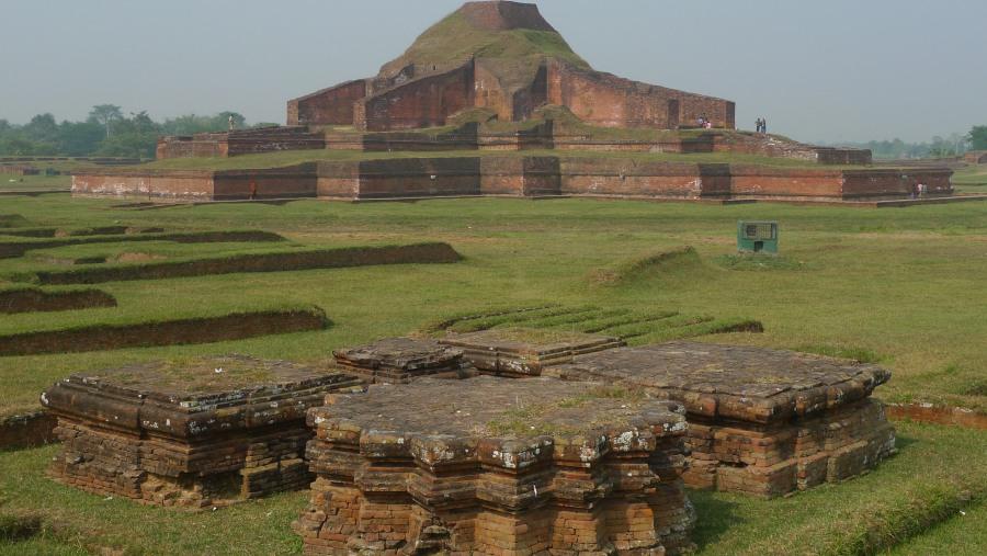 'Paharpur' Highest Buddhist stupa south of Himalaya. UNESCO world heritage site.