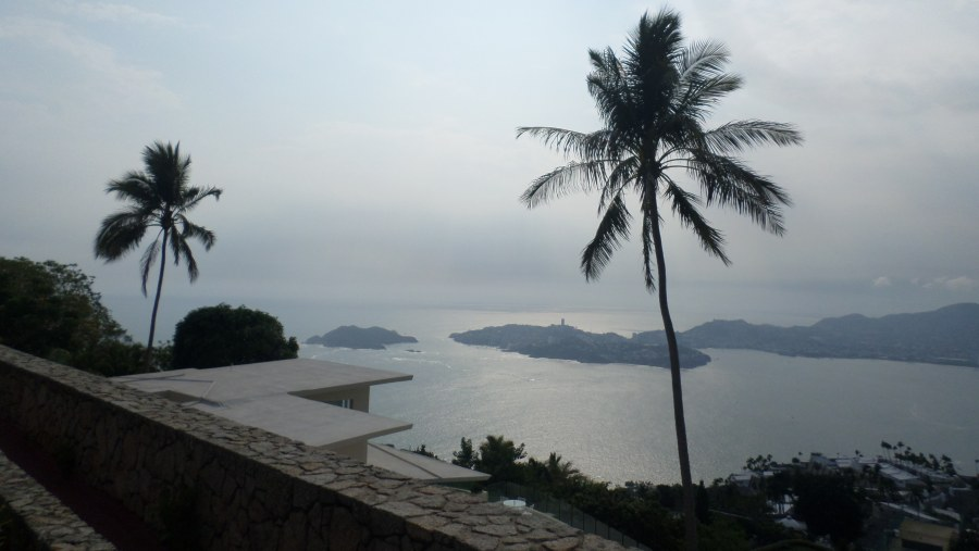 view of old acapulco