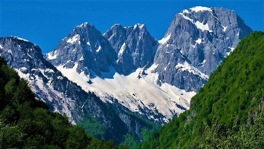 Jezerca Mountain
