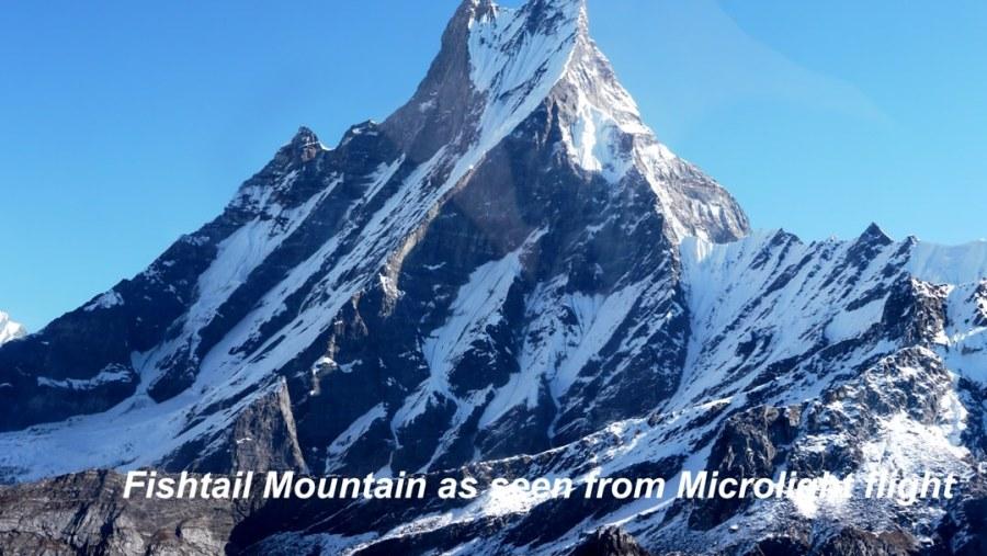 Fishtail Mountain (6997m)