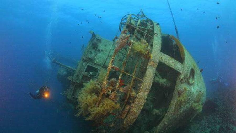Cedar Pride Ship Wreck