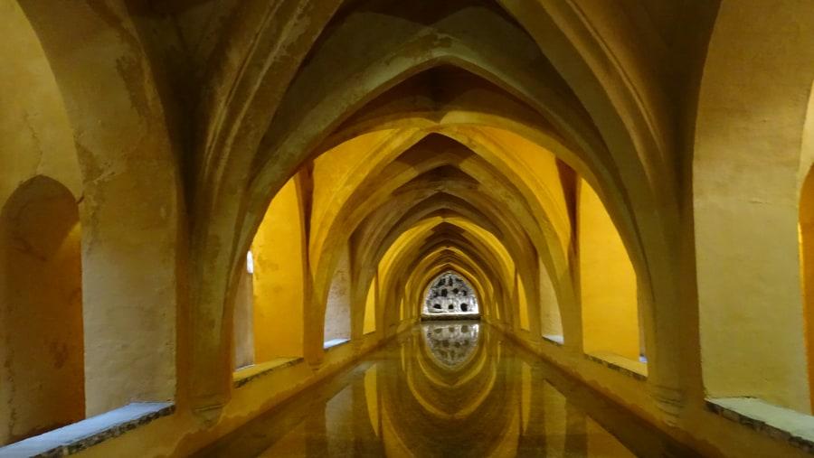 Bath, in the Alcázar