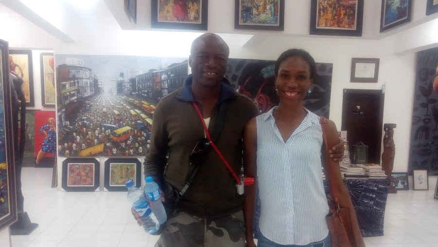 With Seal the artist!