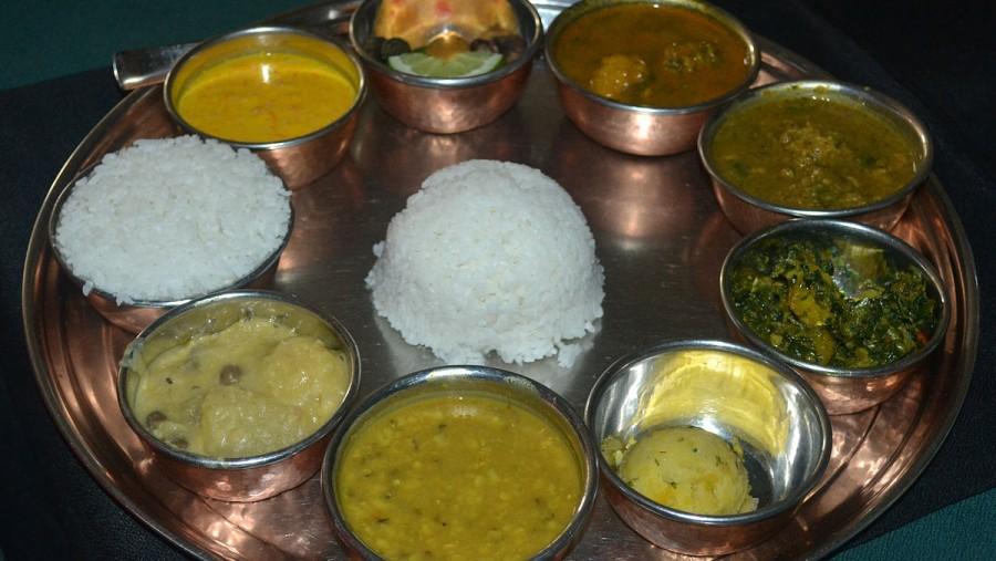 Nepali traditional cuisine