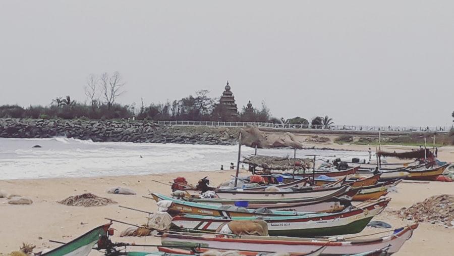 Top guide in mamallapuram