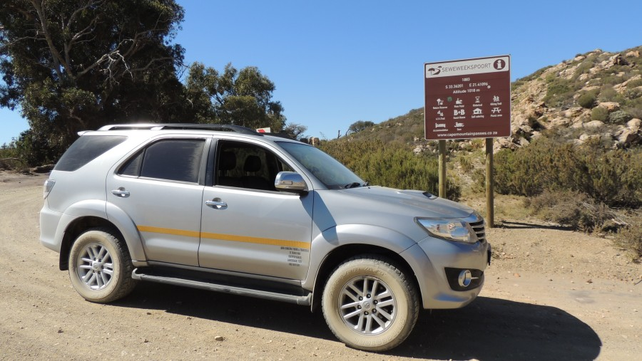 7-Seater 4x4 Toyota Fortuner
