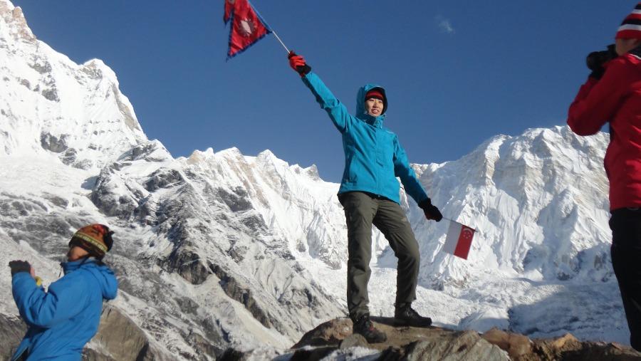 Annapurna Base Camp View Annapurna 1st 8091m