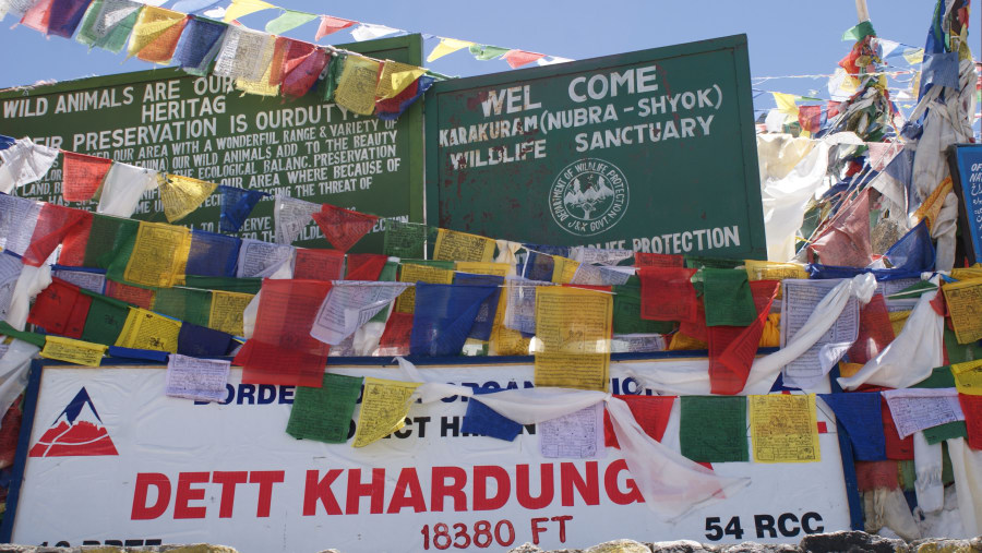 Khardong Pass (highest pass in the world)