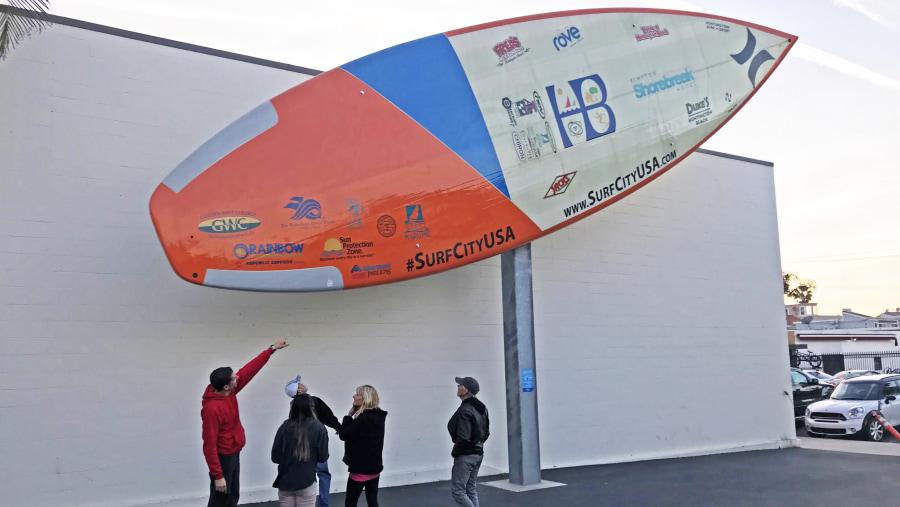 Largest Surfboard