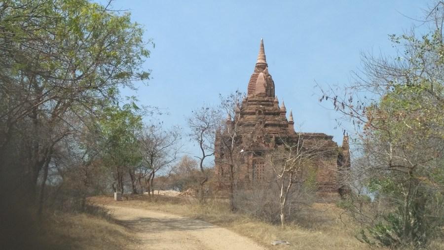On the way to Kyauk Gu U Min Temple