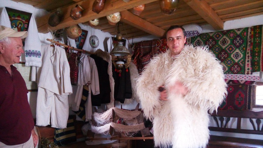 Villages, traditional winter clothing