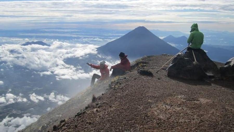 Volcan Acatenango 13044ft height!