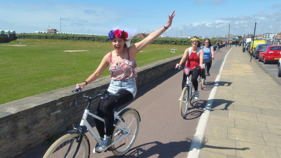 Brighton Hen Do Bike tours