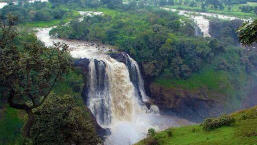 Bahirdar blue Nile falls