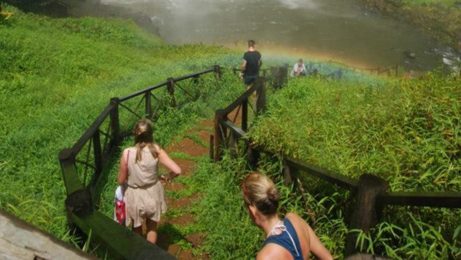 Tad Yeung waterfall in Pakse