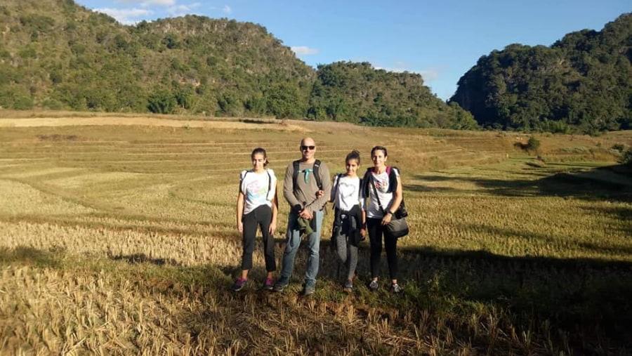 Kalaw to Inle Lake trekking