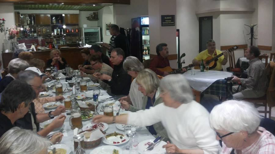 Dinner and Serenates