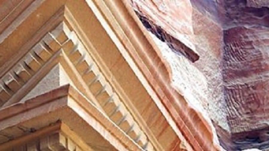 Treasury , broken pediment
