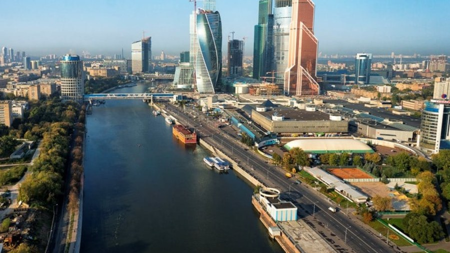Moscow highrise
