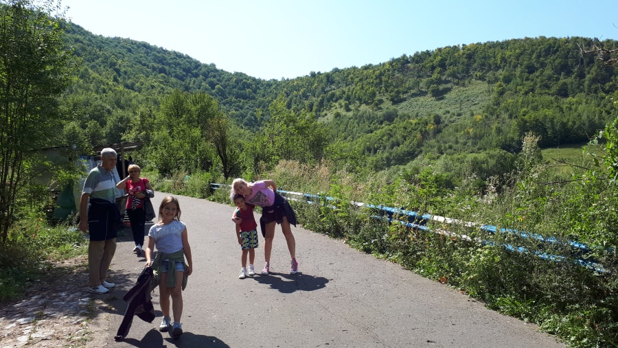 Apuseni Mountains, exist route from The Bears Cave