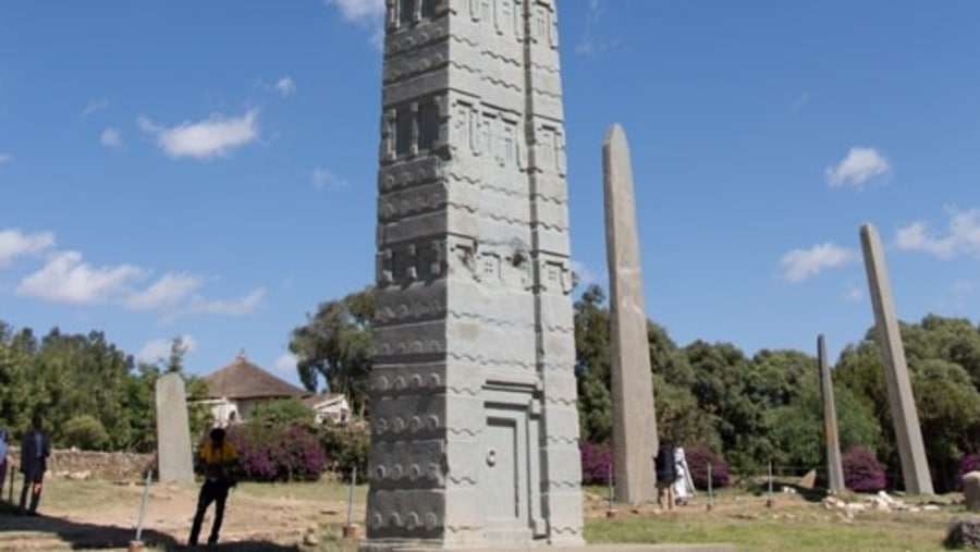 Obelisk in Axum