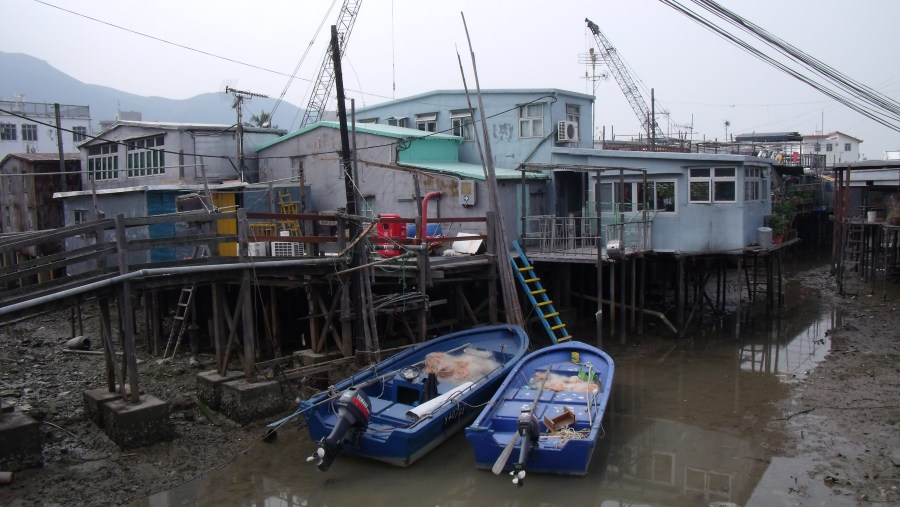 Stilt houses at Tai O