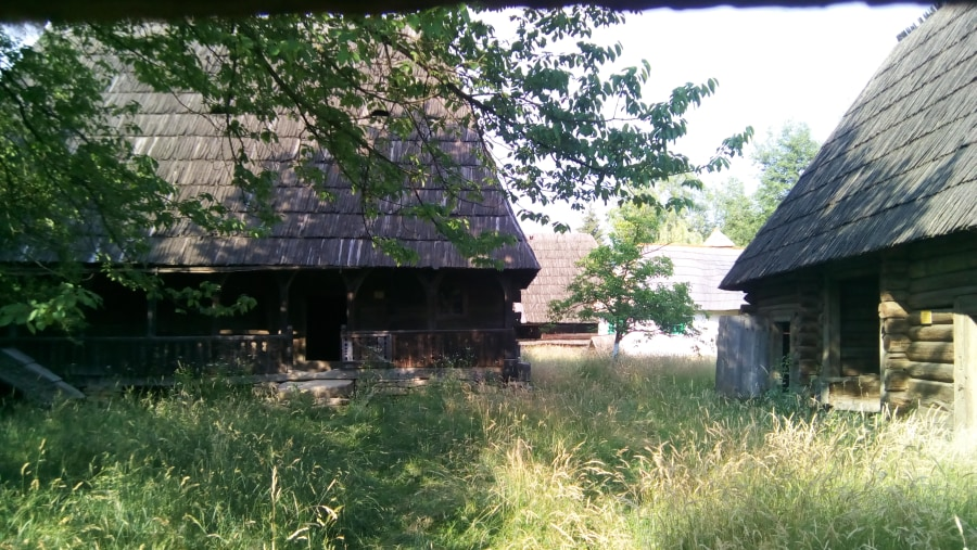 Old villages, wooden houses and churches