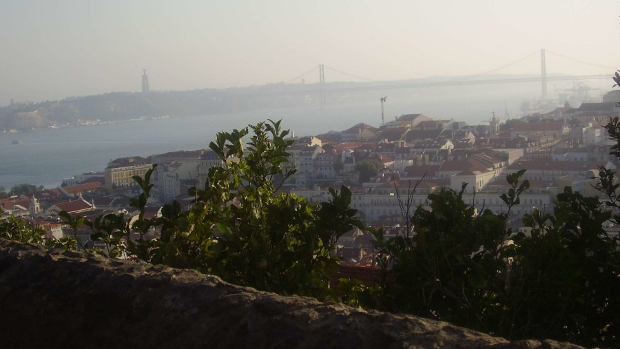 View from the S.Jorge Castel