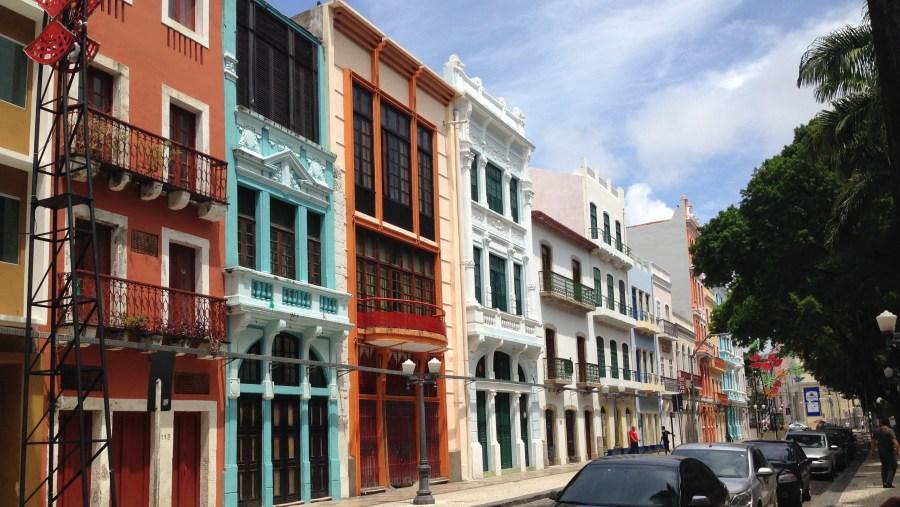 Rua do Bom Jesus - Recife Antigo