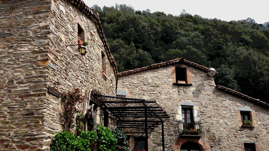 The picturesque village of Montseny