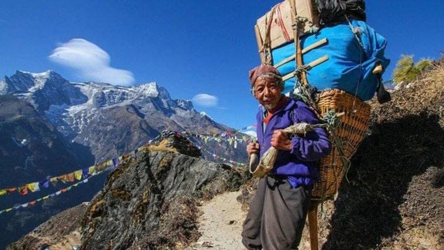 Sherpa Everest area