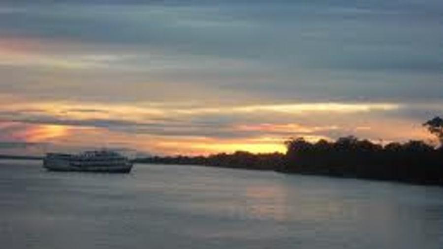 Sunset to Manaus