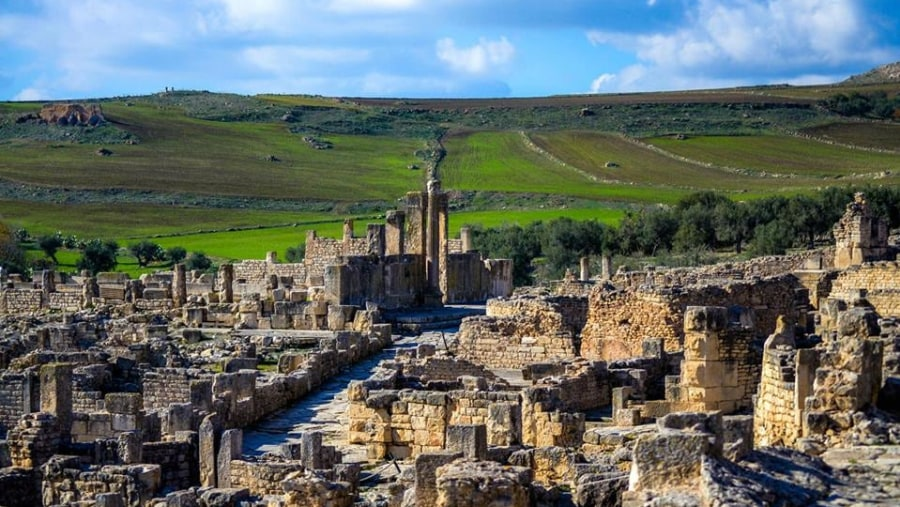 dougga, the best archeological site in north africa