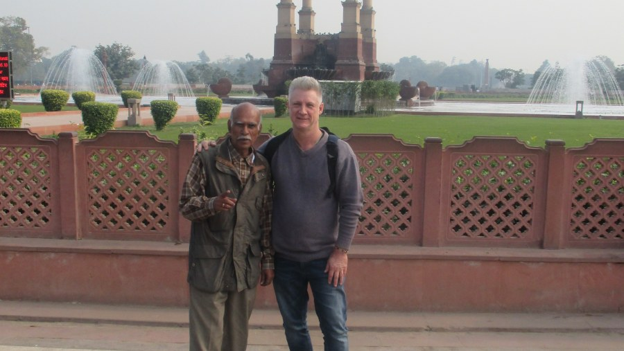 My trip to Delhi and my tour with Mr Tripathi